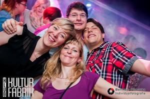 10.05.2014 / Klub Kulturfabrik / Feier Starter