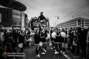 15.02.2015 / Dessau / 18. Dessauer Karnevalsumzug