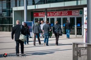 18.03.2015 / Hannover / Messegelände / CeBIT 2015