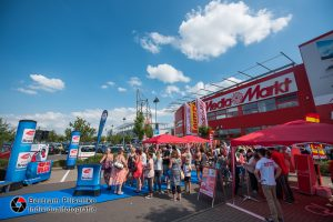 21.07.2018 / Magdeburg / Pfahlberg / Stars for Free Ticketparty am Mediamarkt mit Radio Brocken