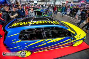 27.01.2019 / Erfurt / Automobilmesse Erfurt / WCS Wrap Carstyles Sangerhausen