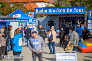 28.09.2019 / Bad Lauchstädt / Edeka / Radio Brocken on Tour